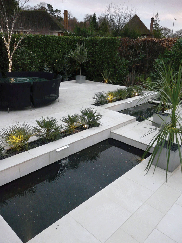 Image of Ground level planter