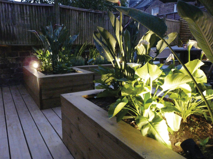 Image of Softwood raised planters