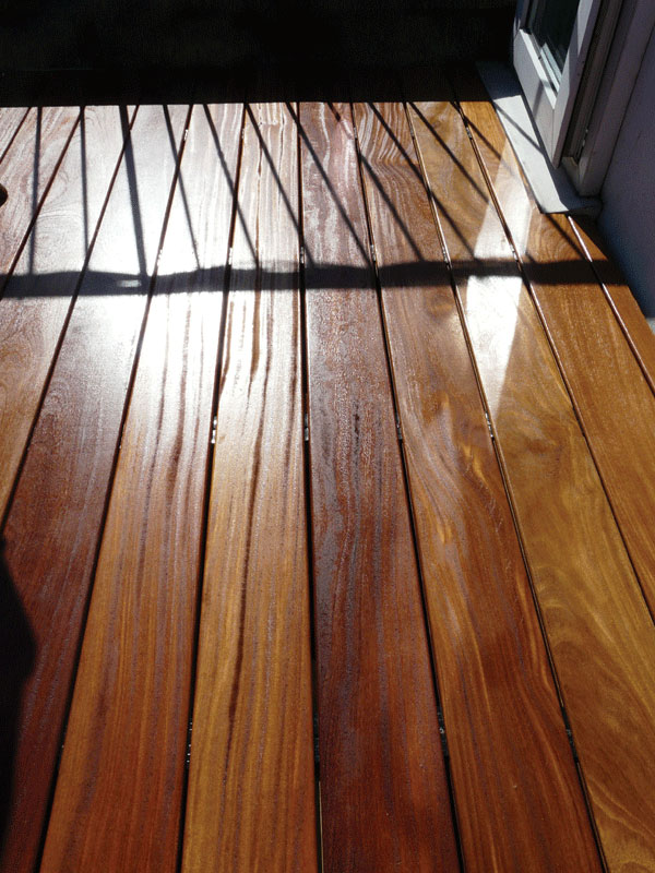 Image of Cumaru decking