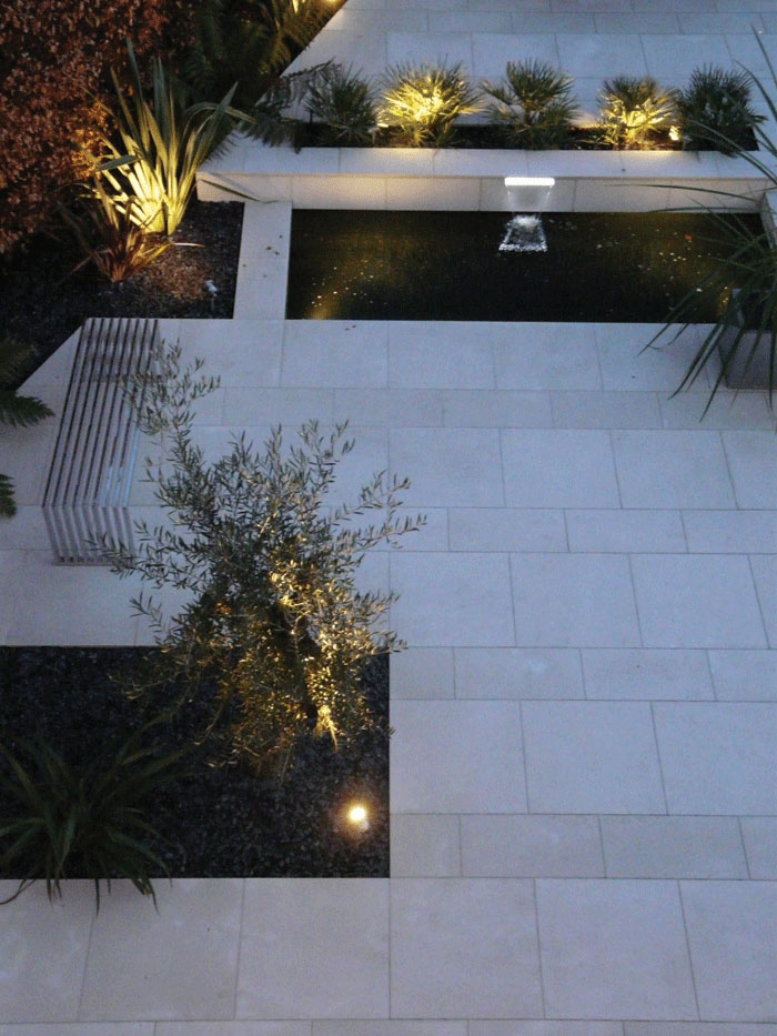 Image of Illuminated garden