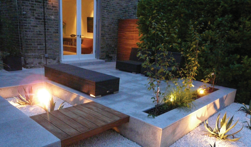 bespoke garden design queens park london abstract